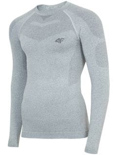Men's seamless underwear (top) BIMB300G - grey melange