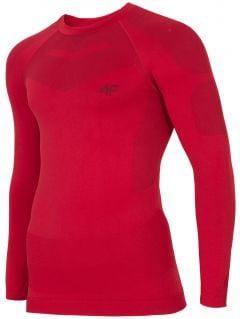 Men's seamless underwear (top) BIMB300G - red