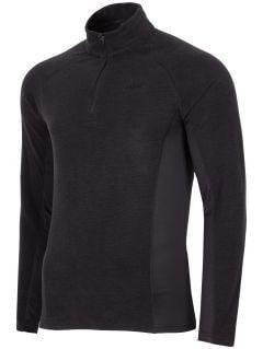 Men's fleece underwear BIMP252 - dark grey melange