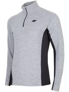 Men's fleece underwear BIMP252 - grey melange