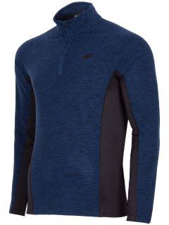 Men's fleece underwear BIMP252 - navy melange