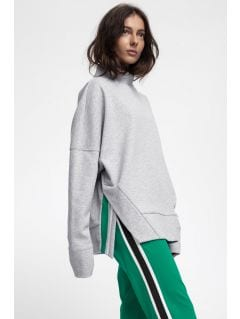 Women's sweatshirt BLD220 - light grey melange