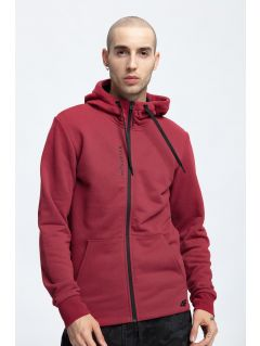 Men's hoodie BLM256 - dark red