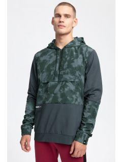 Men's hoodie BLM264 - dark grey
