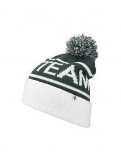 Men's hat CAM257 - dark green