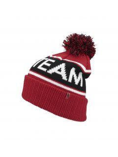 Men's hat CAM257 - red