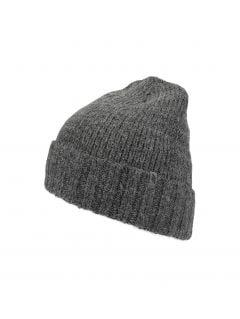Men's hat CAM258 - grey melange