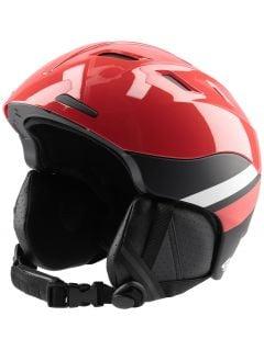 Women's ski helmet KSD150 - red