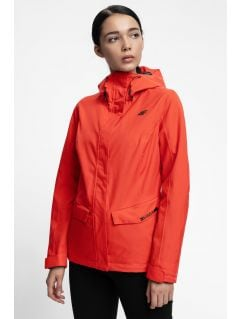 Women's urban jacket KUD301 - red