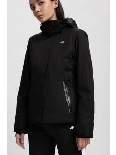 Women's ski jacket KUDN154 - black
