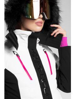Women's ski jacket KUDN161 - white