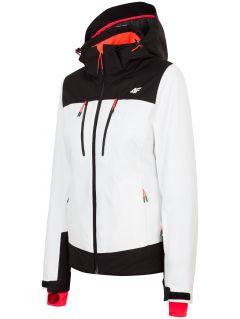 Women's ski jacket KUDN251 - white