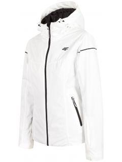 Women's ski jacket KUDN300 - white