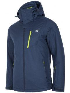 Men's ski jacket KUMN253R - navy melange