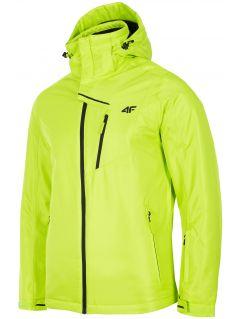 Men's ski jacket KUMN253R - fresh green