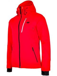 Men's ski jacket KUMN257 - neon red
