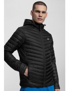 Men's down jacket KUMP301 - black