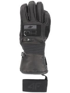 Women's ski gloves RED151 - black