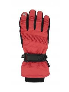 Women's ski gloves RED252 - red