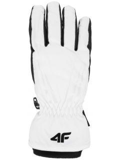 Women's ski gloves RED350 - white