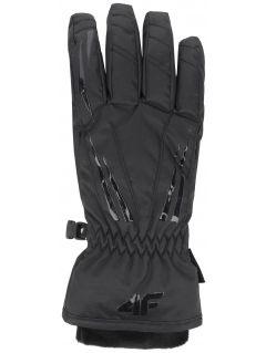Women's ski gloves RED350 - black
