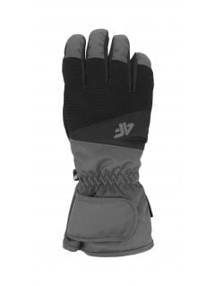 Men's ski gloves REM350 - black