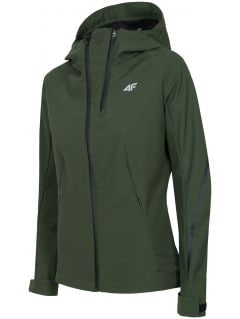 Women's softshell jacket SFD221 - khaki