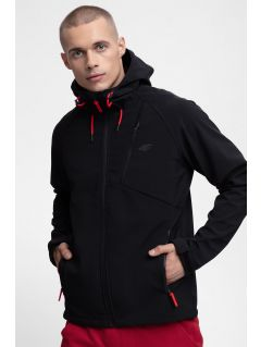 Men's softshell jacket SFM300 - black