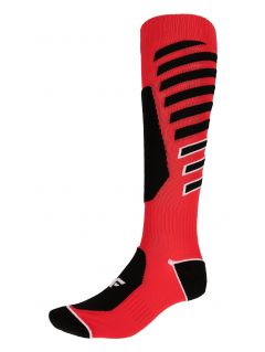 Men's ski socks SOMN348 - red