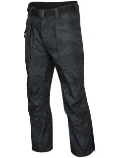 Men's ski pants SPMN552R - multicolor allover