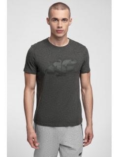 Men's T-shirt TSM280 - dark grey melange