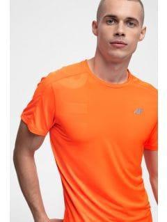 Men's active T-shirt TSMF257 - orange neon