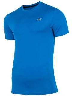 Men's active T-shirt TSMF300 - cobalt blue