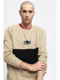 Men's sweatshirt TSML261 - beige