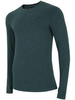 Men's long sleeve T-shirt TSML300 - sea green melange