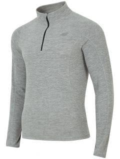 Men's fleece underwear BIMP001 - grey melange