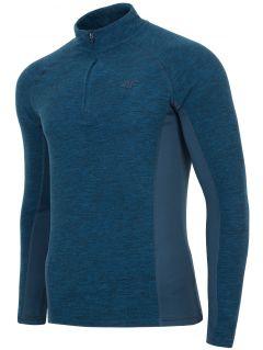 Men's fleece underwear (top) BIMP002 - navy melange