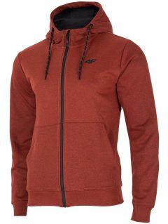 Men's hoodie BLM002  - red melange