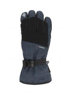 Men's ski gloves REM002 - navy