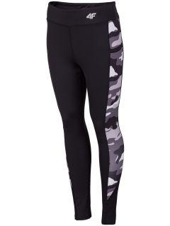 Women's active leggings SPDF003 - black