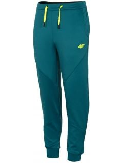 Functional trousers for boys JSPMTR401A - teal