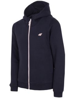 Sweatshirt for older children (girls) JBLD203a - navy