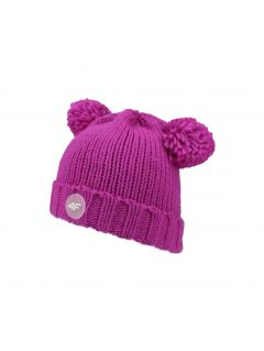 Hat for older children (girls) JCAD205 - fuchsia