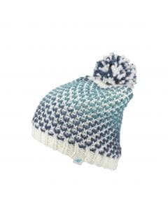 Hat for older children (girls) JCAD217 - blue