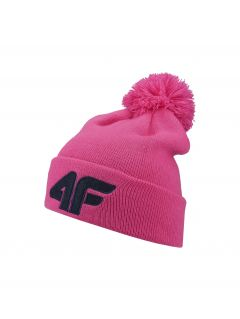 Hat for older children (girls) JCAD255 - pink neon