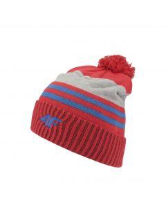 Hat for older children (boys) JCAM227 - red