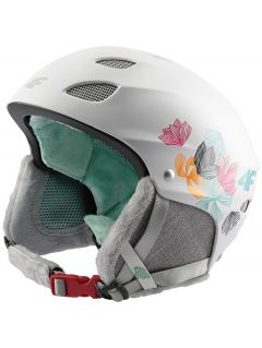 Ski helmet for older children (girls) JKSD400 - white