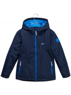 Ski jacket for younger children (boys) JKUMN302 - navy
