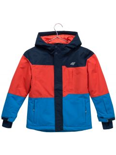 Ski jacket for younger children (boys) JKUMN304 - navy