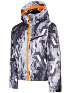 Ski jacket for older children (boys) JKUMN403 - multicolor allover
